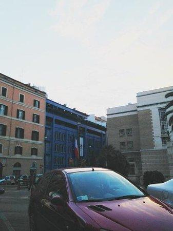 iQ Hotel Roma: IQ hotel from La Matriciana resturant
