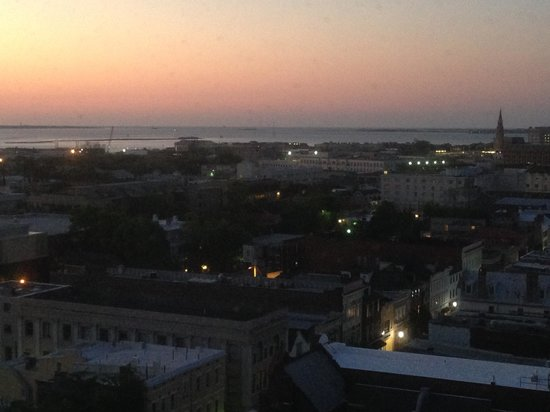 Francis Marion Hotel: Sunrise from my room