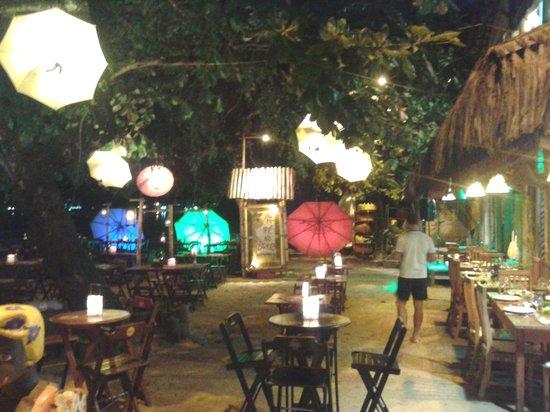 Restaurante Pé na Areia: View from the entrance