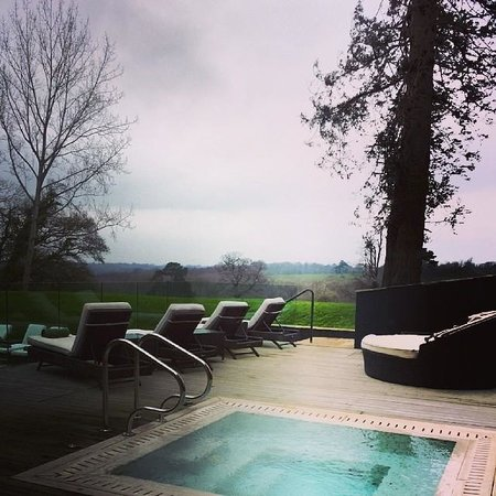 Ockenden Manor Hotel & Spa: Pool