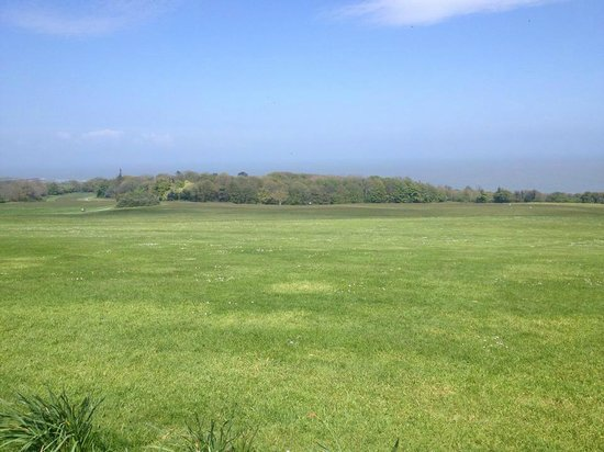 Ardgillan Castle: view of coast