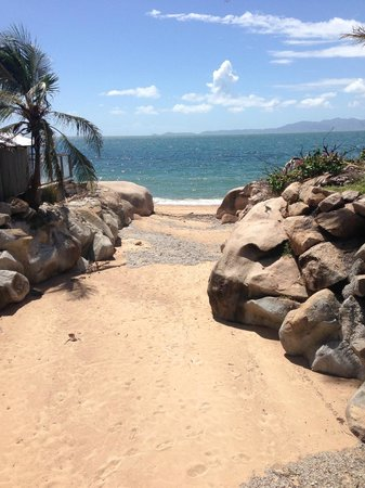 Base Backpackers Magnetic Island : view from the bridge