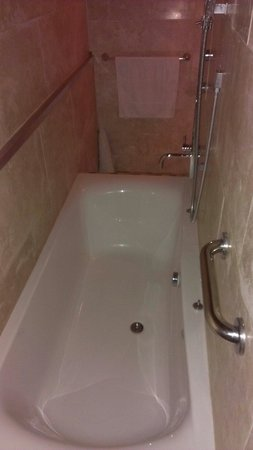 The Pinetum Lodge: Big luxury bath