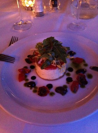 Oxo's Restaurant: goats cheese cheese cake