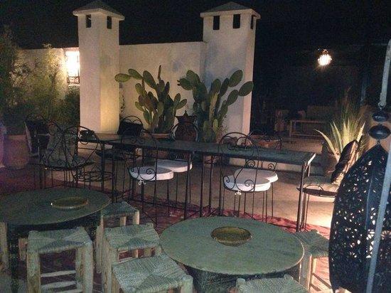 Riad Golfame: Terrazza del Riad