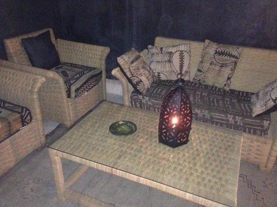 Riad Golfame: Sala relax