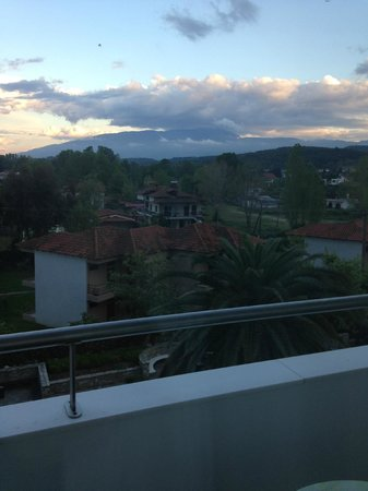 Cronwell Platamon Resort: View from the room