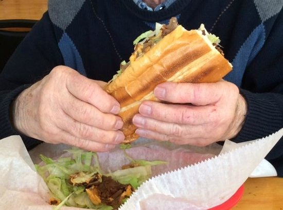 Belly Busters: Cheesesteak