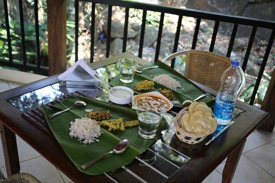 Mayapott Plantation Villa: Kerala Meal