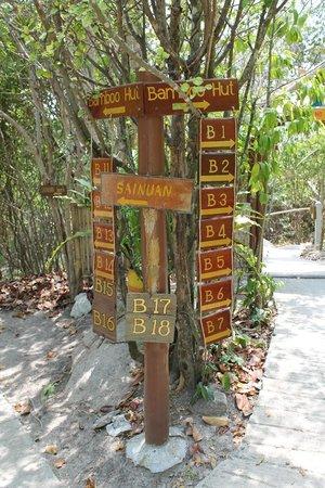 Koh Tao Bamboo Huts : Mange å velge mellom