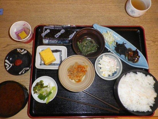 Miyuki Station Hotel Nagoya : 朝食です