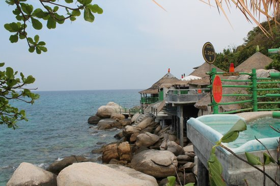 Koh Tao Bamboo Huts: Fra BB1 hytta