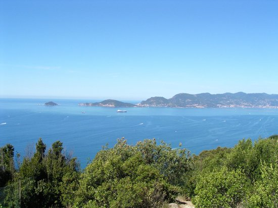 Punta Corvo: Porto Venere da Montemarcello