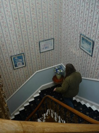 St. Valery Guest House : Trappen