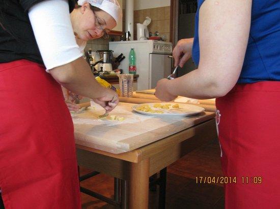 Taste of Italy: gnocchi cooking