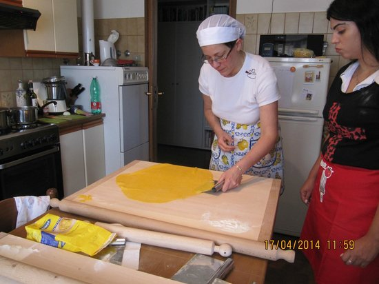 Taste of Italy: pasta cooking