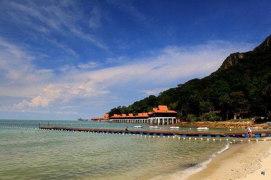 Berjaya Langkawi Resort - Malaysia : View from the beach at Berjaya