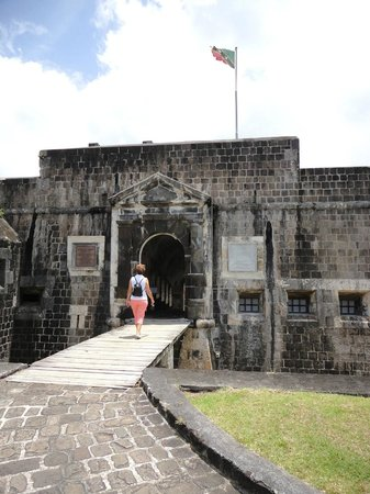 Brimstone Hill Fortress: Entrance to the Fortress