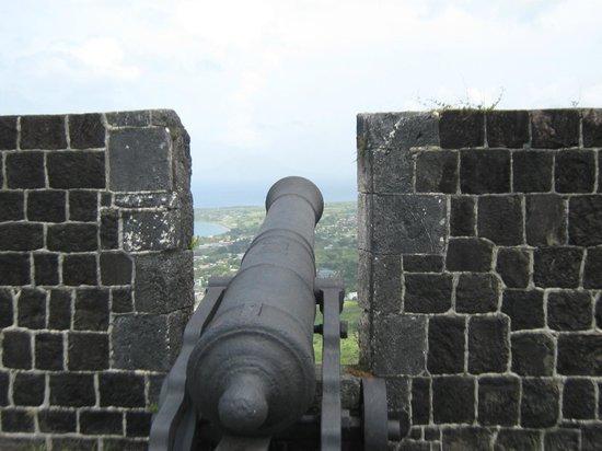 Brimstone Hill Fortress: Cannon
