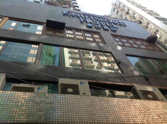 Acesite Knutsford Hotel: tampak luar hotel