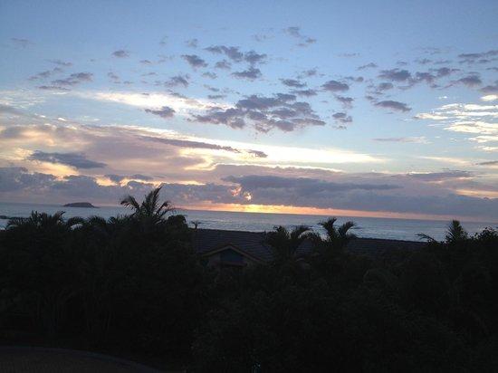 Aqualuna Beach Resort: View from balcony