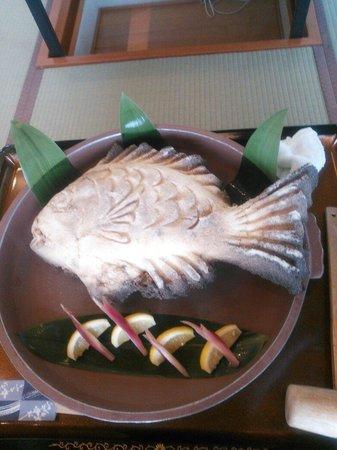 Shiosai Kirara Shokichi: 鯛の塩釜