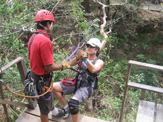 Hotel Borinquen Mountain Resort: Zip Line Experience!
