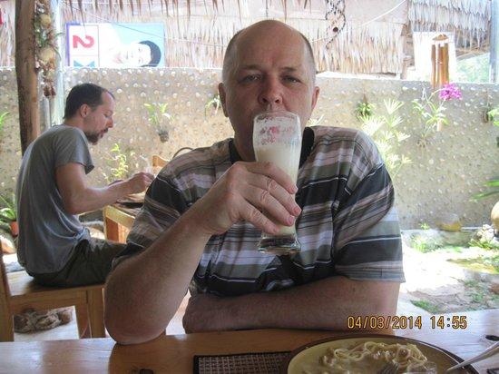 Tamarin restaurant : Ананасовый шейк