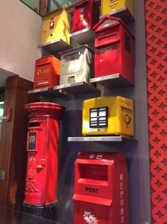 National Postal Museum: Mailboxes