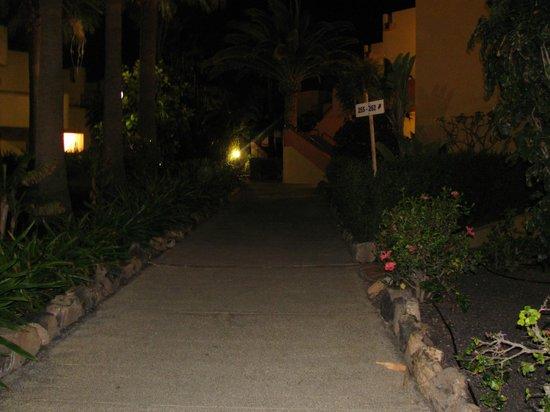 Atlantic Garden Beach Mate: l'esterno notturno
