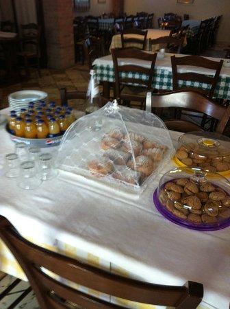 Agriturismo Porcaloca: Sala colazioni