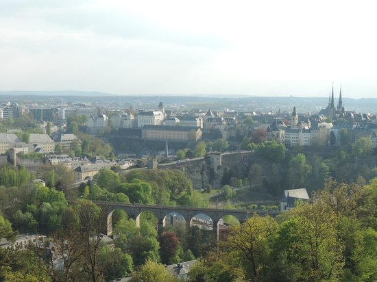 Meliá Luxembourg : Vista do Quarto 1