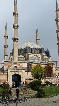 Selimiye Mosque: dıştan görünüş