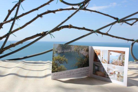 Hotel La Conca Azzurra : Вид из номера (с балкона на море)