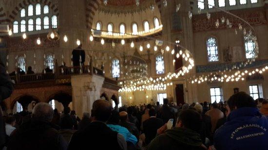 Selimiye Mosque: içten görünüş