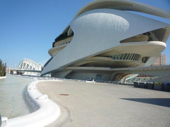 Ciudad de las Artes y las Ciencias: Город науки и искусств