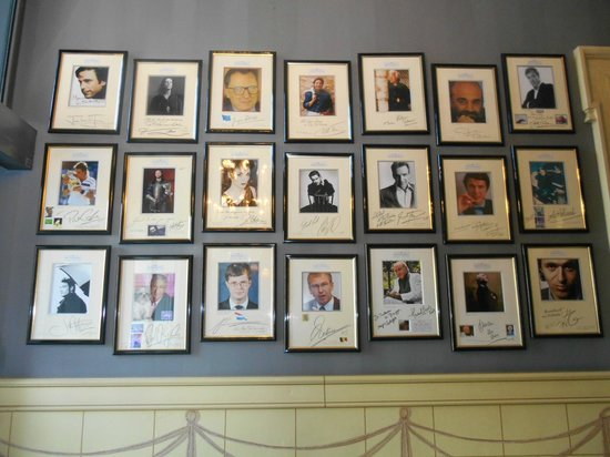 Hotel De Tuilerieen: Hall of Fame