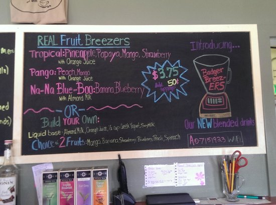 Java Joint on 8th: New for Spring....Fruit or Espresso Breezers
