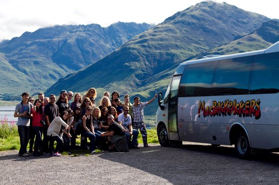 MacBackpackers Loch Ness Day Tour