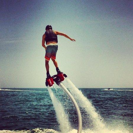 YOLO Watersports : Flyboard Captiva