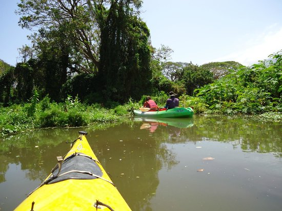 Rio Istian: kayaking