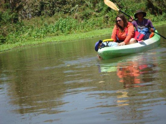 Rio Istian: guide paddling