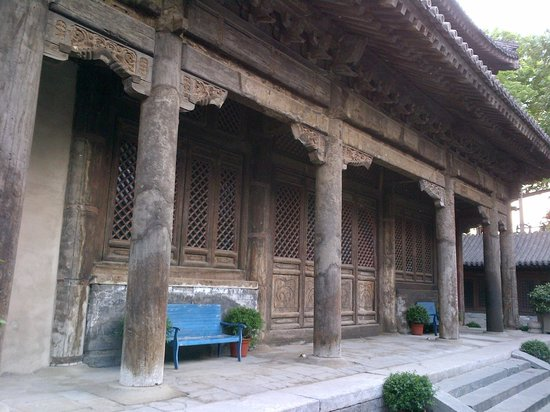 TRB Hutong: Part of the old temple