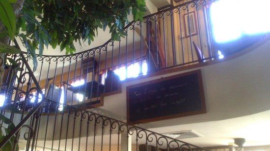 Le Pont Saint Etienne : a l'étage