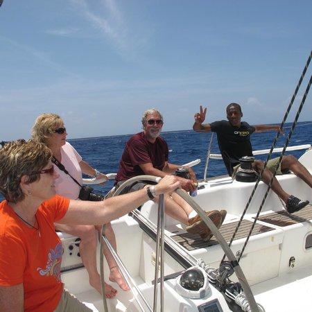 Ondeck Ocean Racing : Sailing with Ondeck in Antigua