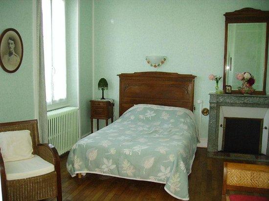 Villa Berthe : Chambre verte