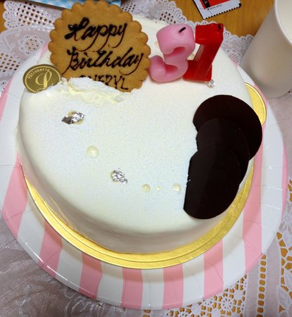 Birthday Cake From Hubby Picture Of Restaurant Patisserie Luce
