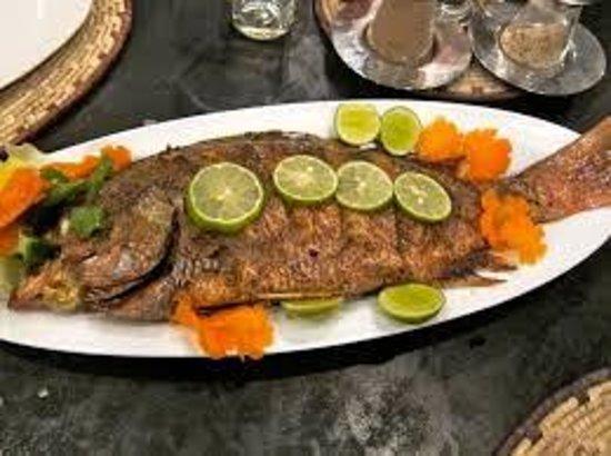 Amal Restaurant : our fish