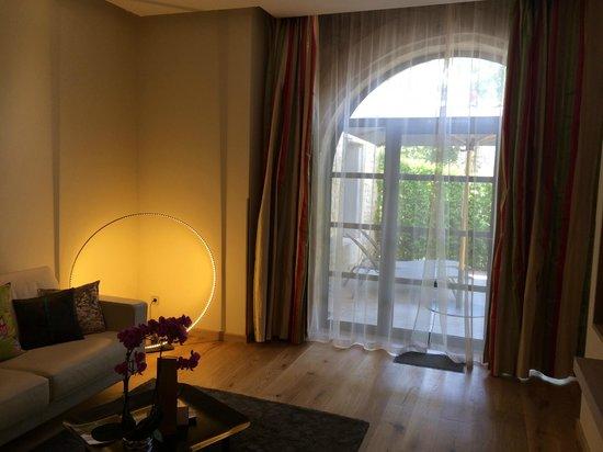 Domaine de Verchant : view from the suite