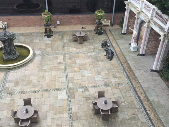 Hallmark Chester The Queen, BW Premier Collection: View from room - lovely peaceful courtyard